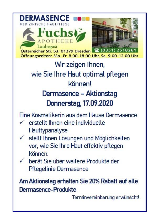 Dermasence-Aktionsstag 2020